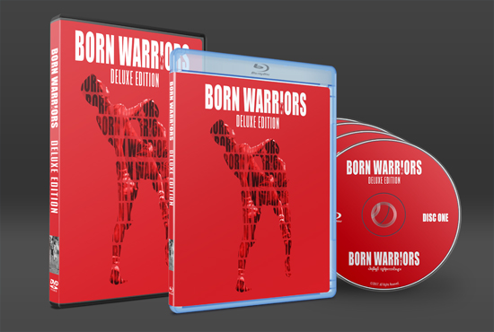 New Born Warriors Deluxe 4 Disc Edition